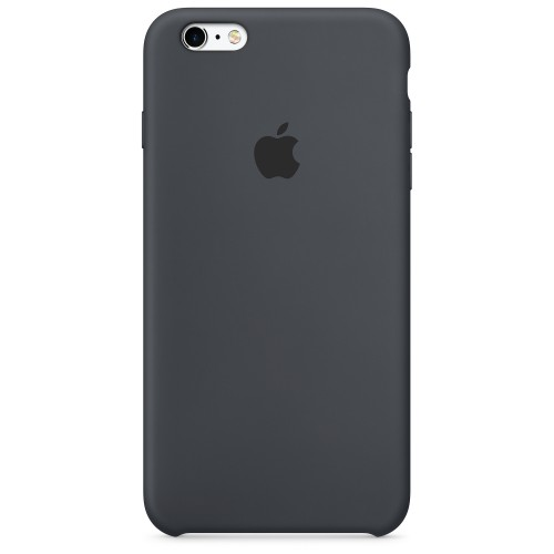 iPhone 6 Plus / 6S Plus Silicone case estilo Apple Black